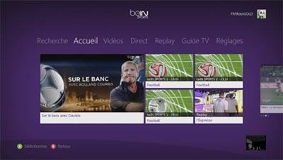 beIN Sports disponible sur Xbox
