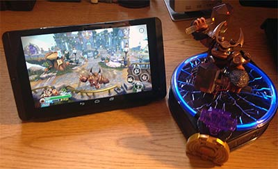 Skylanders Trap Team sur la tablette Nvidia Shield