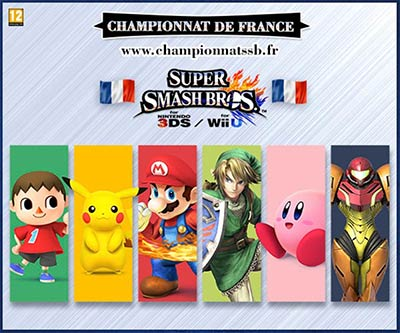 Le championnat de France Super Smash Bros.