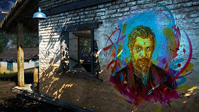 Street Art dans Far Cry 4 par C215 (image 3)