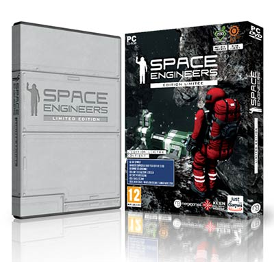 Just For Games signe la distribution de Space Engineers