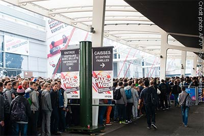 Foule à la Paris Games Week