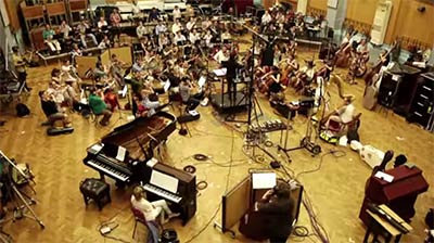 Le London Symphony Orchestra enregistre la bande-originale de Candy Crush Soda Saga à Abbey Road