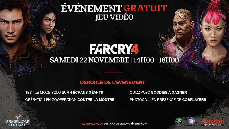 Evénement cosplay Far Cry 4