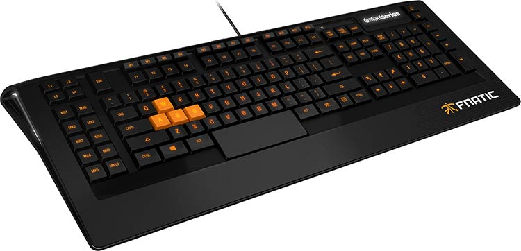 Clavier SteelSeries Apex Fnatic Edition