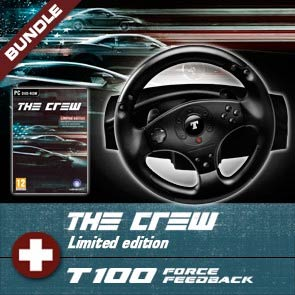 Pack T100 FFB + The Crew PC