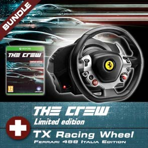 Pack TX Racing Wheel + The Crew Xbox One