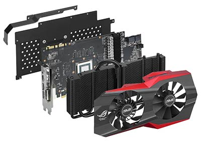 Matrix GTX 980 (composants)