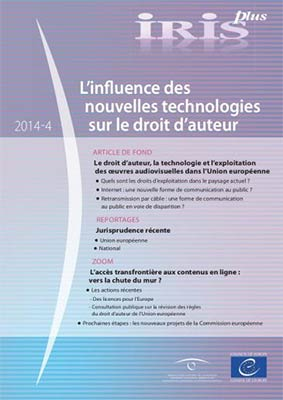 Iris report more: The influence of new technologies on copyright