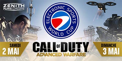 ESWC 2015 Call of Duty Advanced Warfare