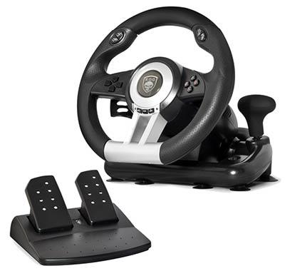 race wheel pro volant et p dalier multiplateformes. Black Bedroom Furniture Sets. Home Design Ideas