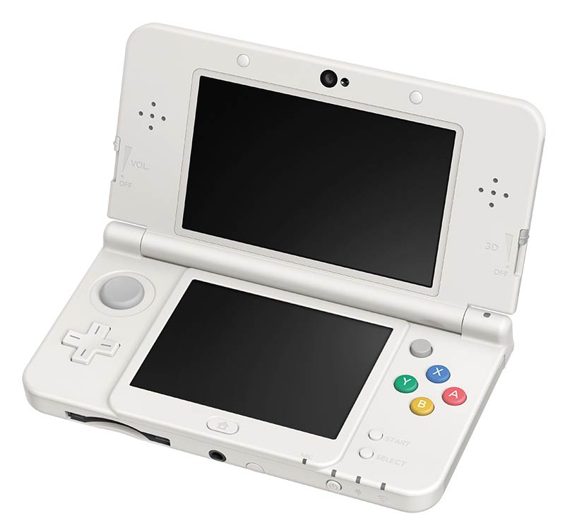 Les consoles new 3ds et new 3ds xl disponibles le 13 f vrier for Ecran noir appareil photo 3ds