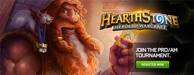 Tournoi Hearthstone Heroes of Warcraft
