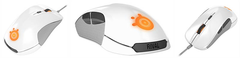 Souris SteelSeries Rival White (image 2)