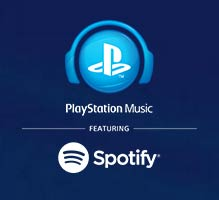 Spotify sur PlayStation Music