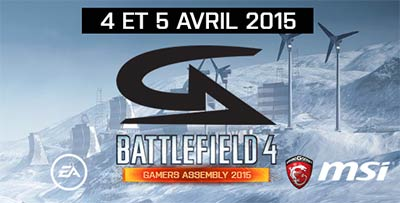 Trophée Battlefield 4 à la Gamers Assembly