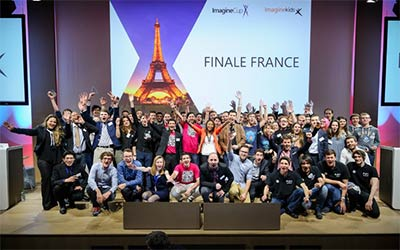 Les lauréats Imagine Cup 2015