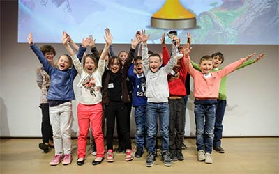 L'ensemble des finalistes Imagine Kids
