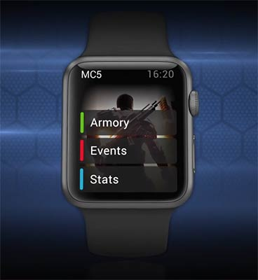 Modern Combat 5 Apple Watch