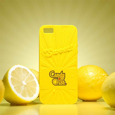 Coque iPhone Candy Crush