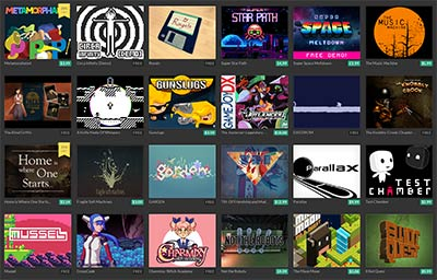 Bundles sur itch.io