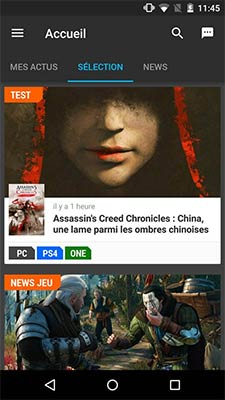 Jeuxvideo.com lance sa nouvelle application mobile