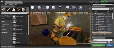 Une serie de livres en francais sur Unreal Engine 4
