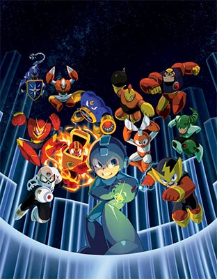 Mega Man Legacy Collection et line up Capcom pour l'E3