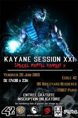 Kayane Session 21 MKX