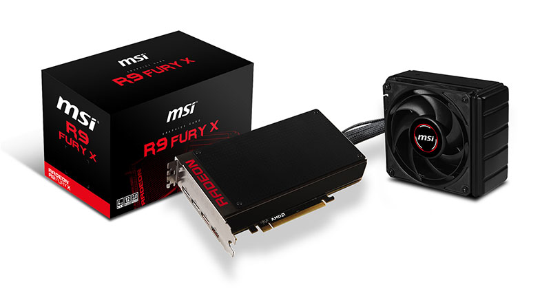 Carte graphique AMD Fury X