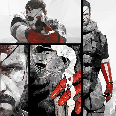 Metal Gear Solid V: The Phantom Pain - visuel de Ideealizse
