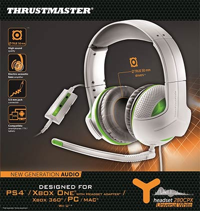 Casque gaming Thrustmaster Y-280 CPX