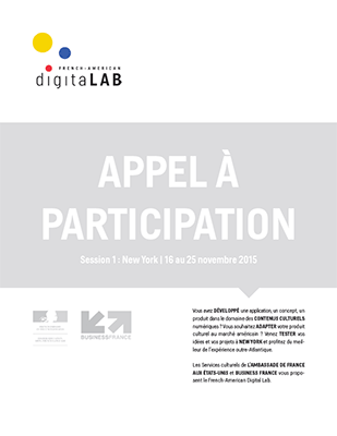 French-American Digital Lab : appel à participation