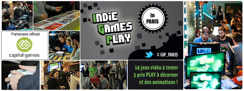 Indie Games Play in Paris