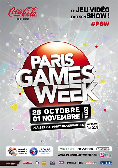 Paris Games Week (affiche 2015)