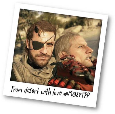 Metal Gear : From desert with love