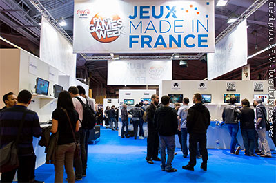 Stand Jeux made in France à la Paris Games Week