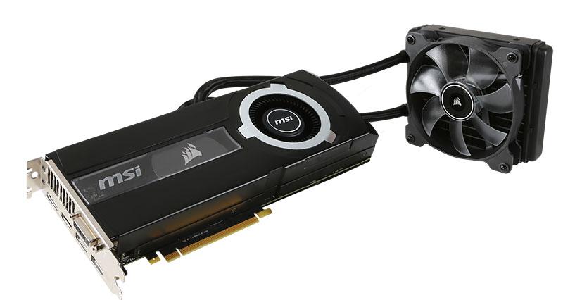 Carte graphique GTX980Ti Sea Hawk
