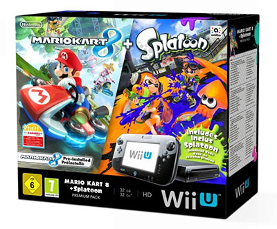 Pack Wii U Mario Kart 8 + Splatoon