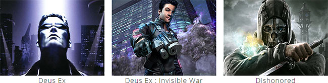 Deus Ex - Deus Ex Invisible War - Dishonored