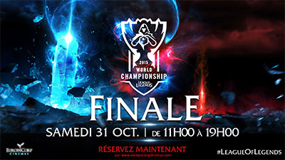 Finale coupe du monde League of Legends à EuropaCorp Cinemas
