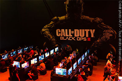 Call of Duty : Black Ops III (Paris Games Week 2015)