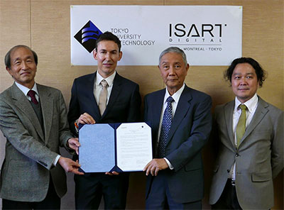 Isart Digital et la Tokyo University Of Technology signent un partenariat d'excellence