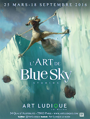 Exposition : L'Art de Blue Sky Studios