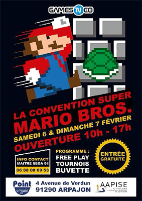 Convention Super Mario Bros