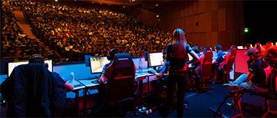 Developpement des competitions de jeux video