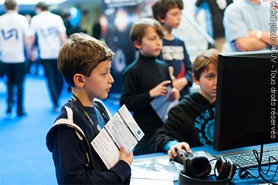 Vive les enfants à la Gamers Assembly