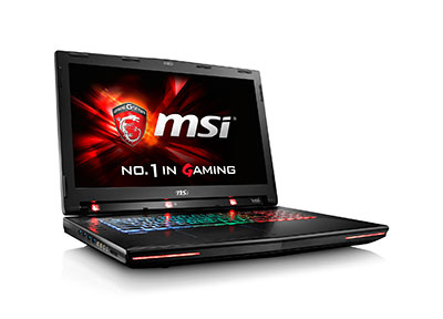 Notebook gaming GT72S Dominator Pro G Tobii de MSI