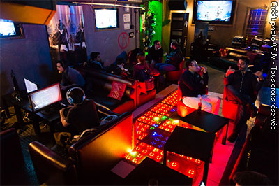 Meldown bar e-sport