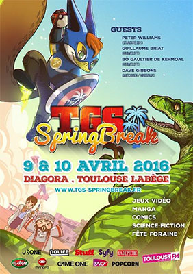 Toulouse accueille le TGS Springbreak